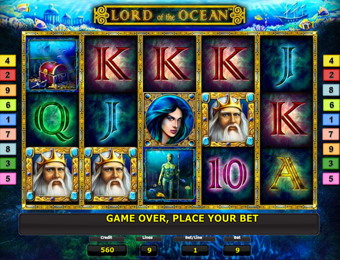 online casino list lord of the ocean